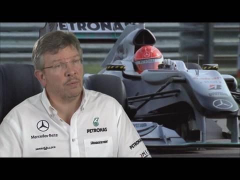 Formel 1: Ross Brawn über Melbourne 2010