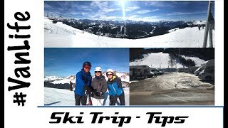 French Alps Ski Trip - VanLife Tips - Portes du Soleil, Morzine, Les Gets