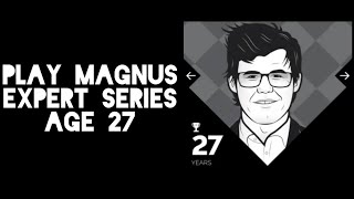 Play Magnus - Expert Series - Stockfish (white) v. Magnus Carlsen Age 27