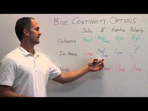 Your Option Implementing Business Continuity