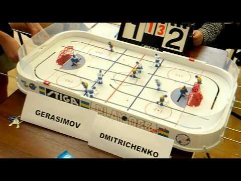 Table Hockey. Moscow Cup 2013. Dmitrichenko-Gerasimov 5