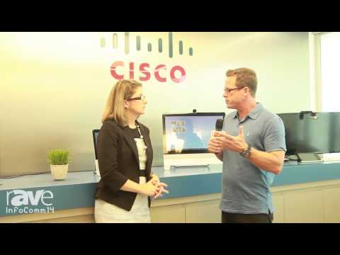 InfoComm 2014: Gary Kayye Speaks with Angie Mistretta About Cisco's Plans for InfoComm 2014