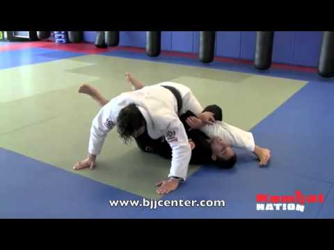 Grappling Half Guard; Deep half guard sweep video by Pablo Popovitch and Dustin