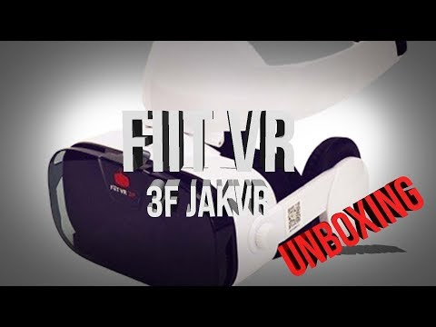 Review FiiT VR 3F VIRTUAL REALITY GLASSES 3D HEADPHONES BUILD IN HEADSET JAKVR