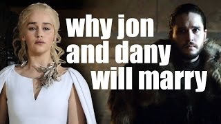 Why Jon Snow and Daenerys Targaryen will marry. Game of Thrones Season 7/8 Prediction
