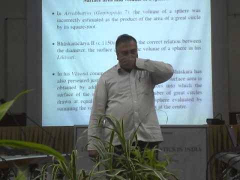 M.d.srinivas Presenting On  Kerala School Of Astronomy And Development Of Calculus In Iit Bombay video