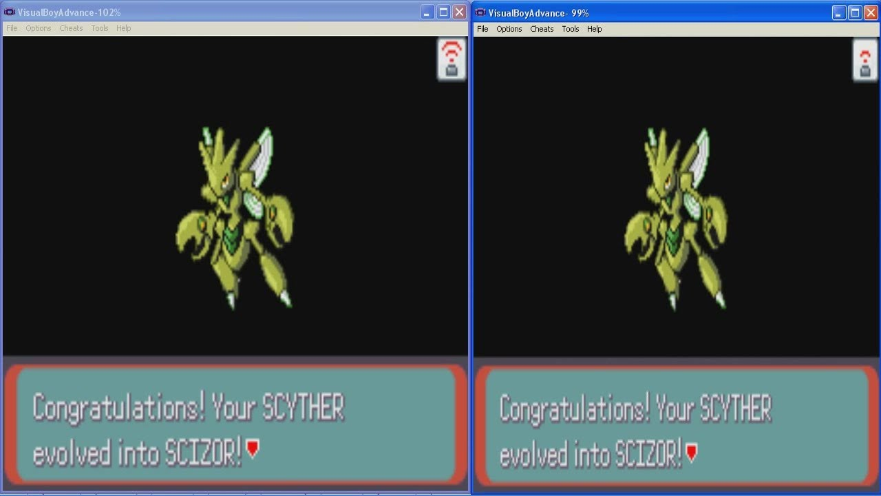 how to get a scyther in fire red