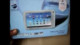 BSNL Penta T-Pad IS709C Unboxing - Android tablet available for $70