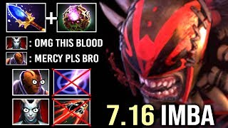 THIS IS HOW YOU COUNTER Blink Team Imba Bloodseeker vs AM Epic OC Scepter Build Gameplay WTF Dota 2