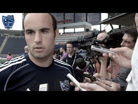 ESPAÑOL: Landon Donovan en Exclusiva | MLS Partido de las Estrellas 2013