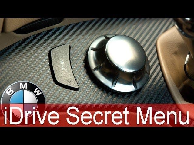 BMW iDrive Hidden Secret Menu howto: - YouTube