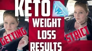 Keto Going Strict, Weight Loss Results, Keto Meals and Daily Vlog 981