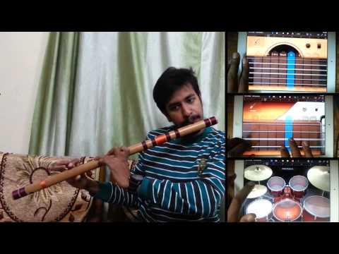 Jeena Jeena   Badlapur   Atif Aslam   Bansuri Flute Instrumental Cover By Nitish Mishra video