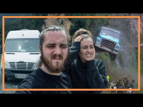 ROAD OF DEATH | extreme VAN LIFE drive in Colombia, pt. 2