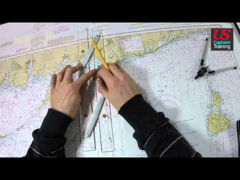 Captain License Chart Navigation – Speed Made Good Practice Problem 2