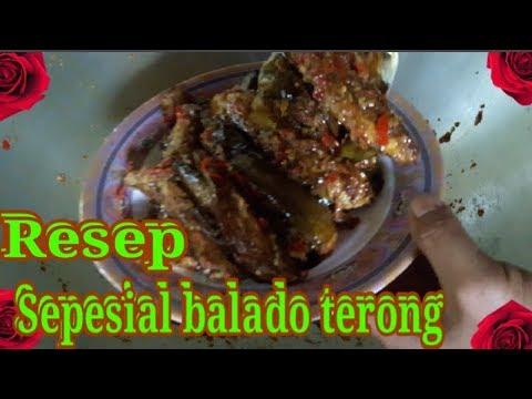 Resep sepesial(20.rb SUBSCRIBE)BALADO TERONG SUPER ENAK