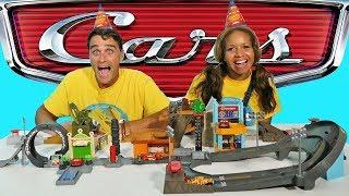 Cars 3 Mega City!  || Disney Toy Review || Konas2002