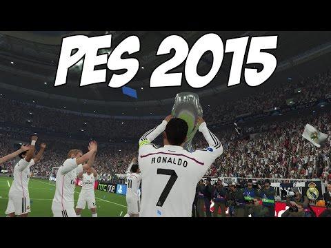 PES 2015: Gameplay, UEFA Super Cup, C.Ronaldo, Bale, Benzema e Rodriguez (Real Madrid vs Sevilla)