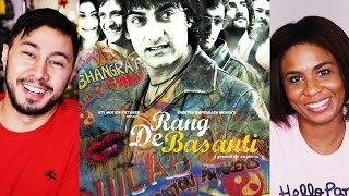 RANG DE BASANTI Movie Review by Jaby & Cortney Wright!