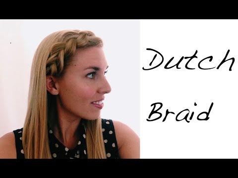 Back to School Hair- Chunky Dutch Braid Headband