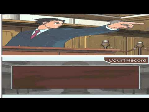 Phoenix Wright Gameplay and Commentary