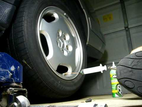 How to Remove Slime from your Car Tire