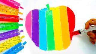 Chị Google Dạy Bé Màu Sắc Tiếng Anh Bằng Tô Màu Đoán Hình Trò Chơi Trẻ Em #26
