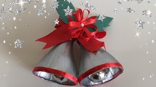 (6.08 MB) Christmas Bells From Waste Plastic Bottles / DIY / Christmas Decoration Idea For Kid   Priti Sharma Mp3