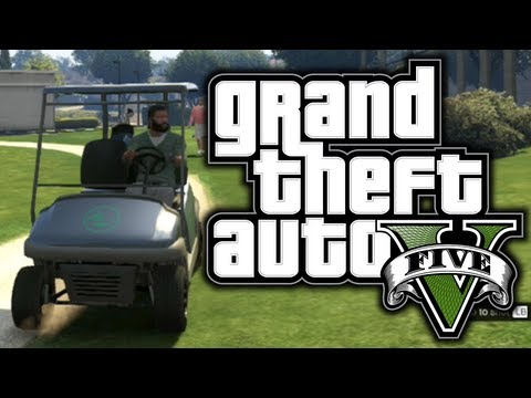 GTA 5: Funny Moments! #2 – Golf, Police Chases, Planes! – (GTA V Adventures)
