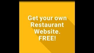 Get Restaurant Website With Ordering functionality for FREE!