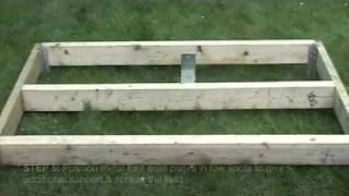 Building a Graden Shed Base