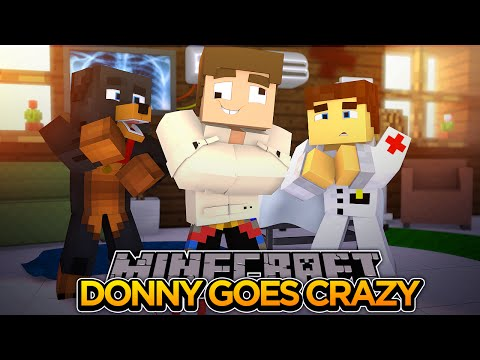 LITTLE DONNY GOES CRAZY!!! - Minecraft - Little Donny Adventures.