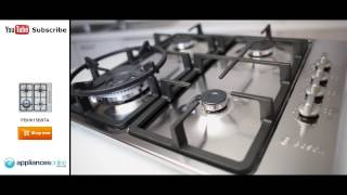 overview of the bosch pbh615b9ta gas cooktop with dual flame wok burner appliances online