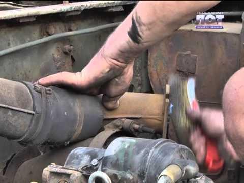 Вторая жизнь Т-34 в Луганске