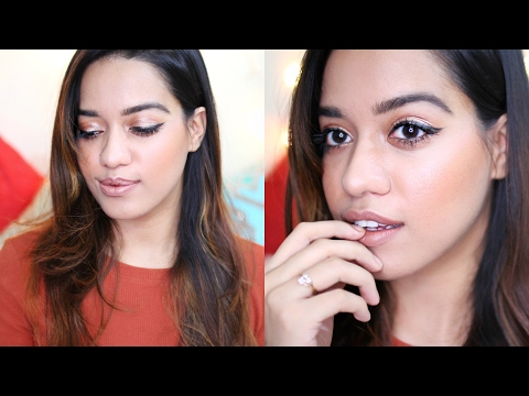 My Go To Everyday Makeup Look || GRWM // Debasree Banerjee