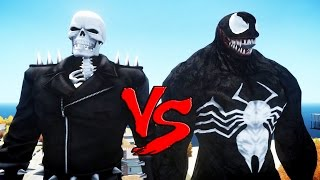 GHOST RIDER VS VENOM (Spiderman) - EPIC BATTLE