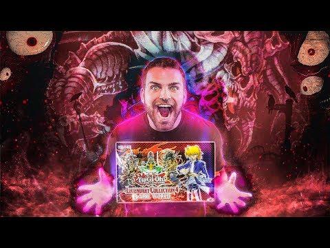 DANGEROUS YuGiOh Legendary Collection 4: DARK WORLD Box Opening & Review