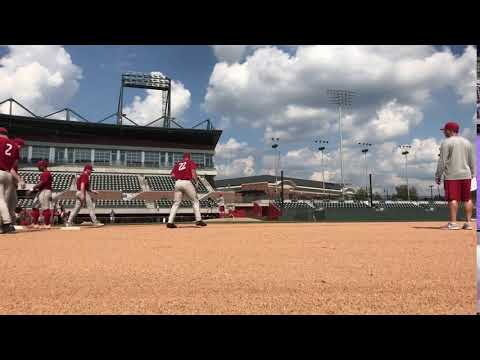Alabama Baseball practice hyperlapse