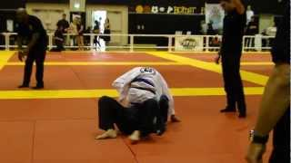 Josh Vasquez 16yrs 1st Blue Belt and Adult Competition - Jiu Jitsu by the Bay 2013
