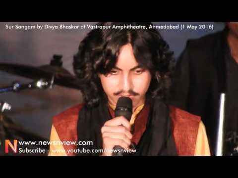 Aditya Gadhvi Gujarati Chhand Song Performance Musical Night Ahmedabad
