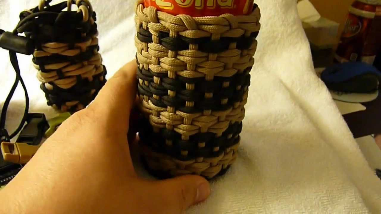 More of stormdrane 39 s paracord pouches youtube for How to make a paracord utility pouch