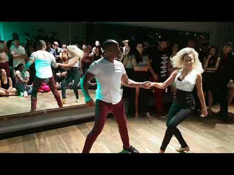 Rise up - Zouk demo by Carlos and Fernanda Da Silva
