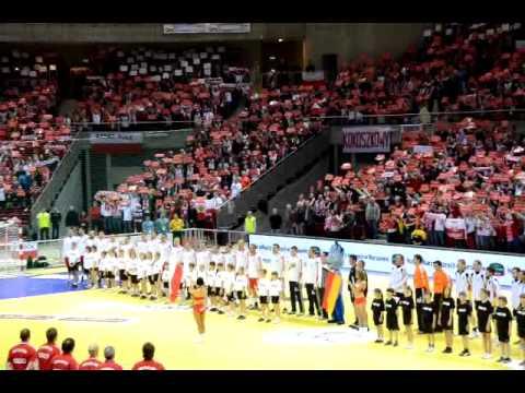 Polska Niemcy - Piłka Ręczna - Gdańsk - Hymn