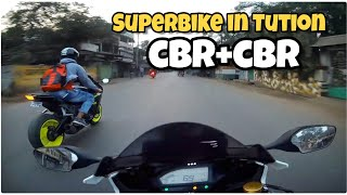 Tuition Mai Superbike 😜 CBR+CBR