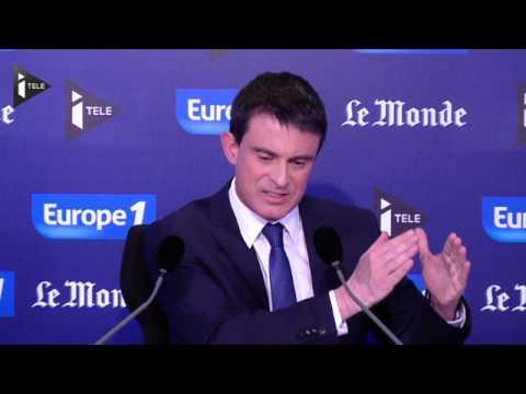 Manuel Valls revendique la