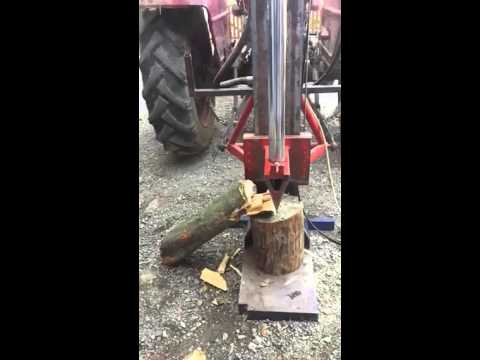 Handmade wood splitter - Rucno pravljeni cepac za drva