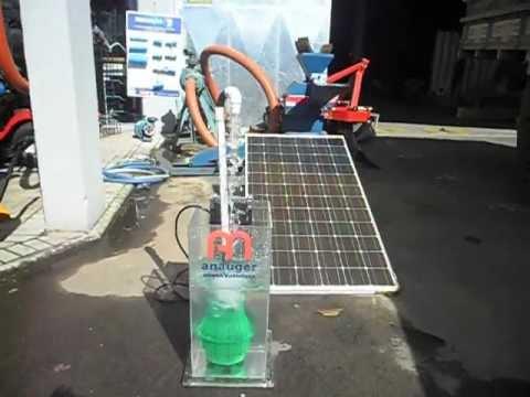 Bomba Solar Anauger em funcionamento