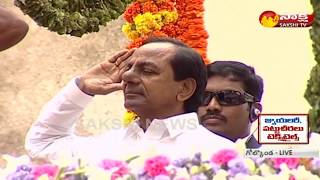 CM KCR Hoists National Flag in Golkonda Fort | 72nd Independence Day Celebrations