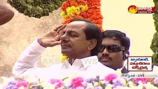 CM KCR Hoists National Flag in Golkonda Fort - 72nd Independence Day Celebrations - netivaarthalu.com