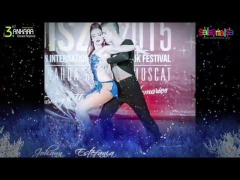 Estefania & Johann Salsa Dance Performance | AIDC-2015